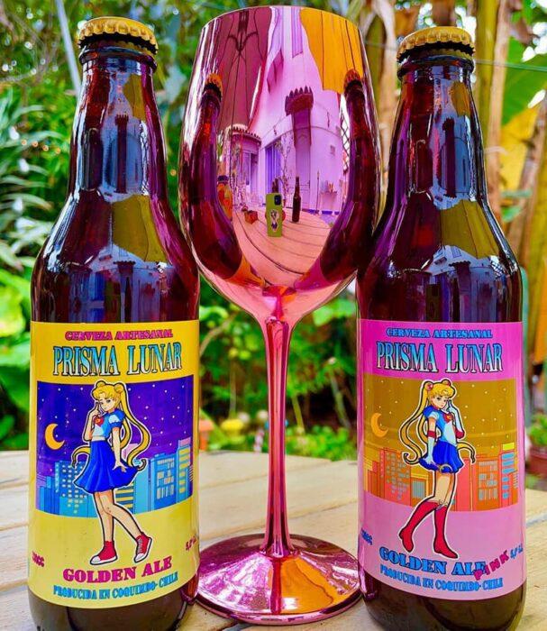Cerveza artesanal ;Prisma Lunar, la cerveza inspirada en 'Sailor Moon' para brindar en el nombre de a luna