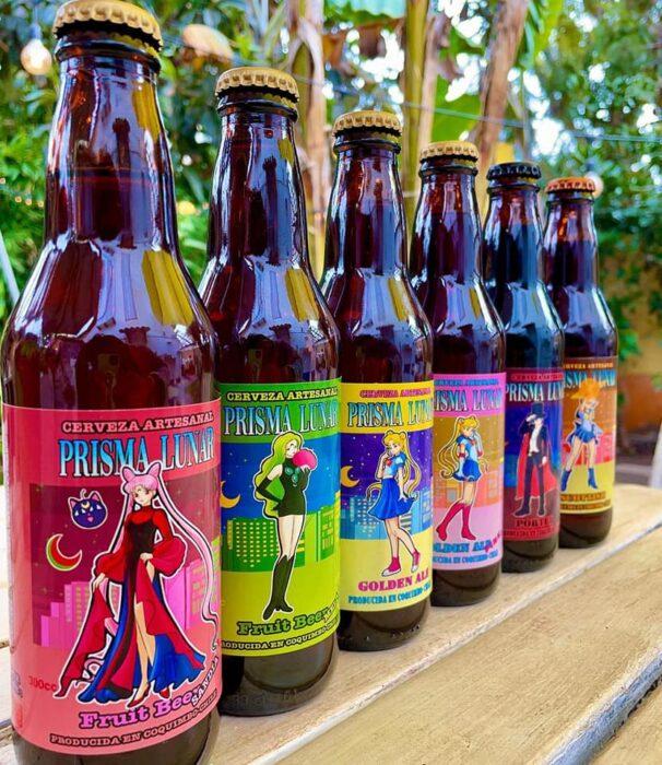 Cervezas frutales ;Prisma Lunar, la cerveza inspirada en 'Sailor Moon' para brindar en el nombre de a luna