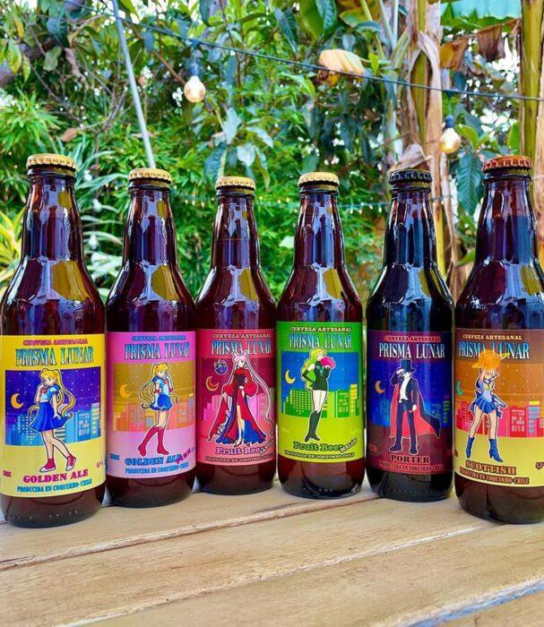 Cervezas artesanales y frutales ;Prisma Lunar, la cerveza inspirada en 'Sailor Moon' para brindar en el nombre de a luna