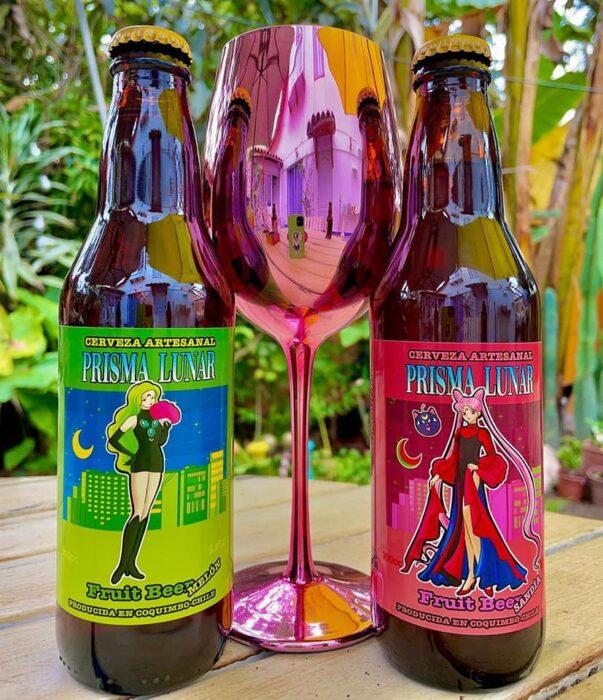 Cerveza de sabores ;Prisma Lunar, la cerveza inspirada en 'Sailor Moon' para brindar en el nombre de a luna