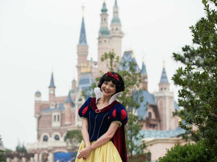 Blancanieves en Disneyland