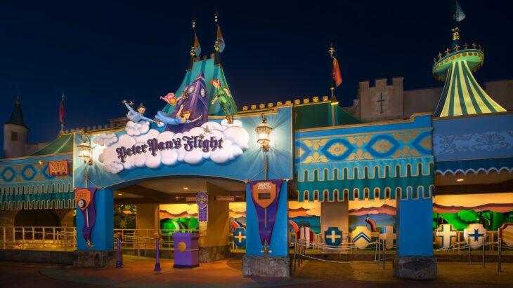 Paseo Peter Pan en Disney