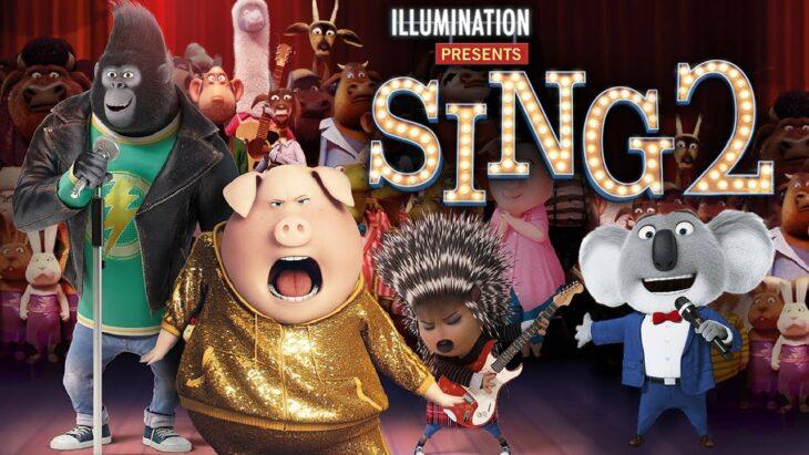 Poster de la película sing 2