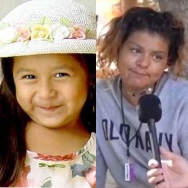 Chica en tiktok siendo entrevistada vs una niña que desapareció en 2003