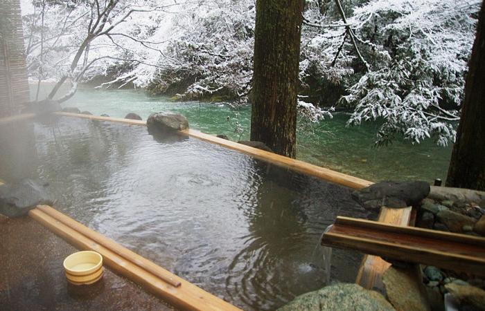 Hay saunas naturales en todos lados