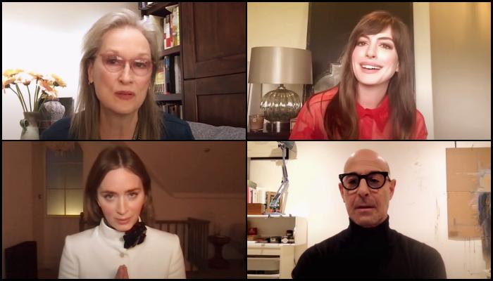 Meryl Streep, Anne Hathaway, Emily Blunt, Stanley Tucci