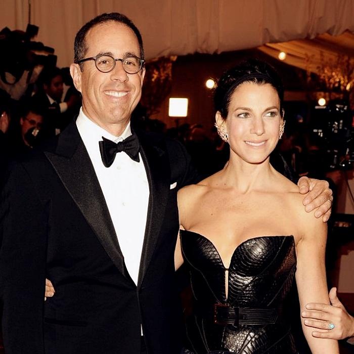 Jerry Seinfeld y Jessica Sklar