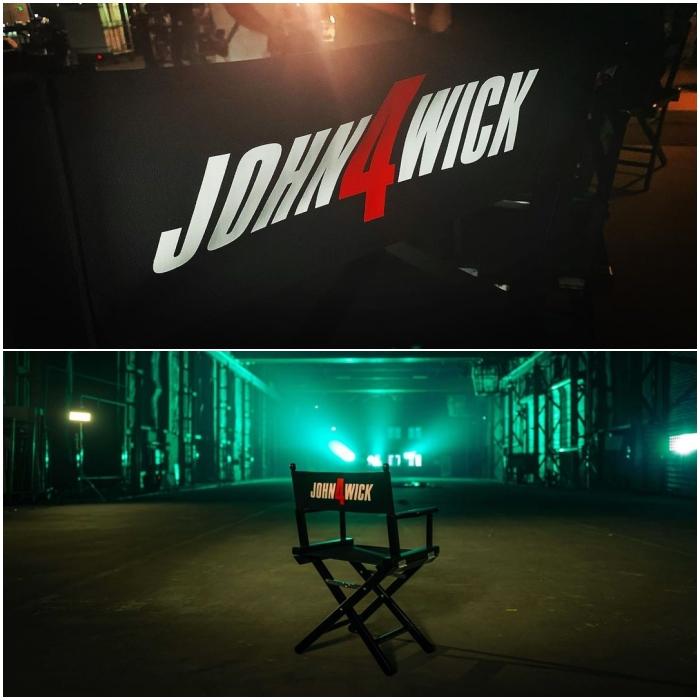 escenas de producción de 'John Wick 4'
