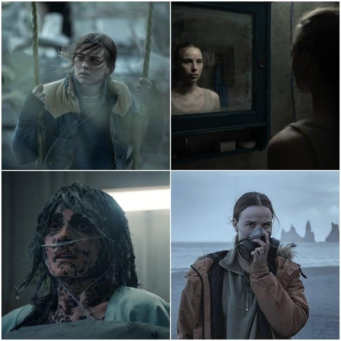 escenas de la nueva serie de netflix 'Katla'