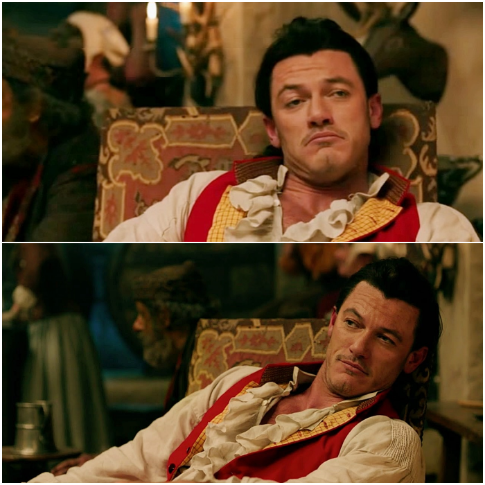 Gaston en Beauty And The Beast