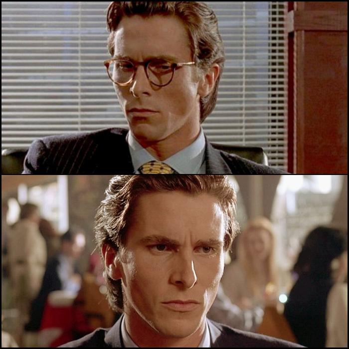 Patrick Bateman en American Psycho