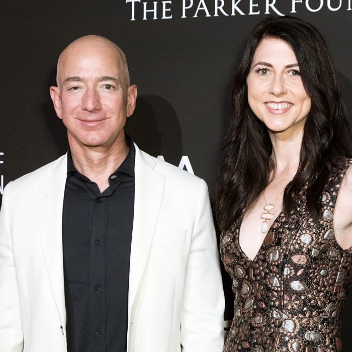 Jeff Bezos y Mackenzie Scott
