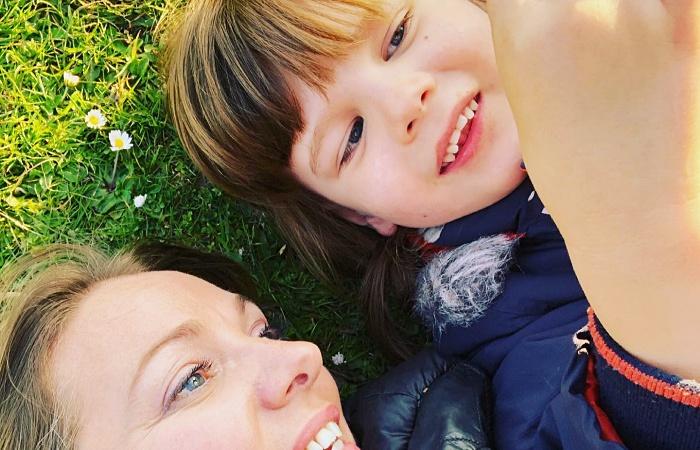 Natalie Fernando y su hijo Rudy