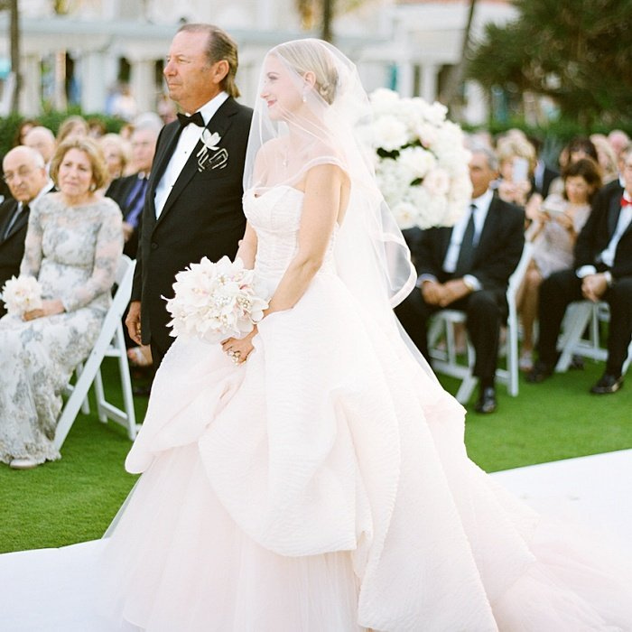 foto de padre e hija en su boda