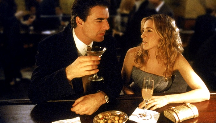 Carrie y Mr. Big en Sex and The City