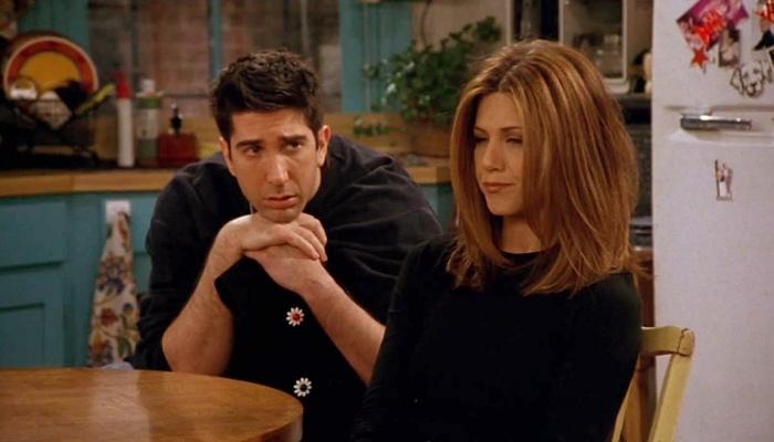 Ross y Rachel en Friends