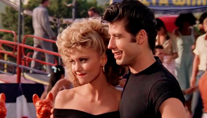 Sandy y Danny en Grease