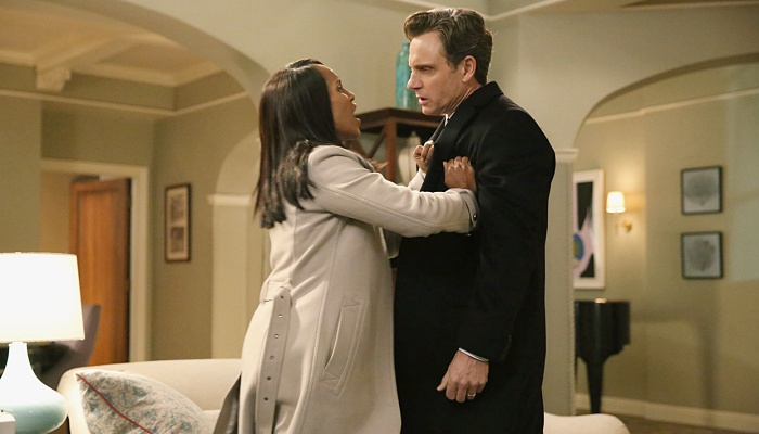 Olivia y Fitz en Scandal