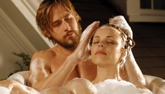 Allie y Noah en Diario de una pasión