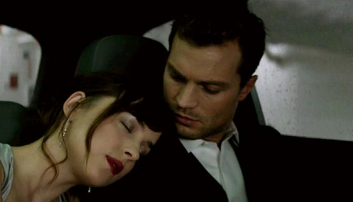 Anastasia y Christian en Cincuenta sombras