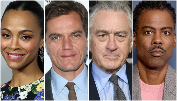 Zoe Saldana, Michael Shannon, Robert De Niro, Chris Rock