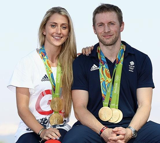 Laura y Jason Kenny ;14 Parejas olímpicas que se llevaron la medalla de oro en nuestro corazón