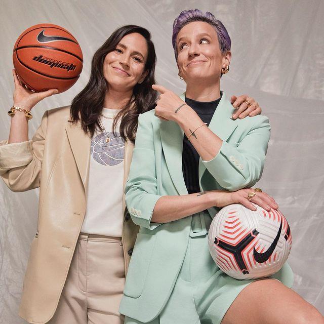 Megan Rapinoe y Sue Bird ;14 Parejas olímpicas que se llevaron la medalla de oro en nuestro corazón
