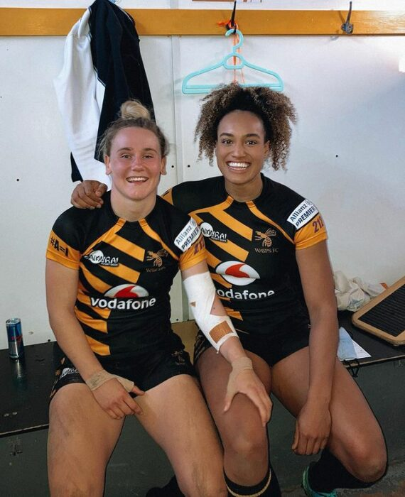 Megan Jones y Celia Quansah ;14 Parejas olímpicas que se llevaron la medalla de oro en nuestro corazón