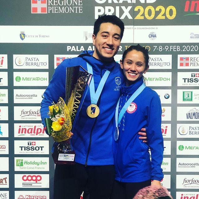 Gerek Meinhardt y Lee Kiefer ;14 Parejas olímpicas que se llevaron la medalla de oro en nuestro corazón