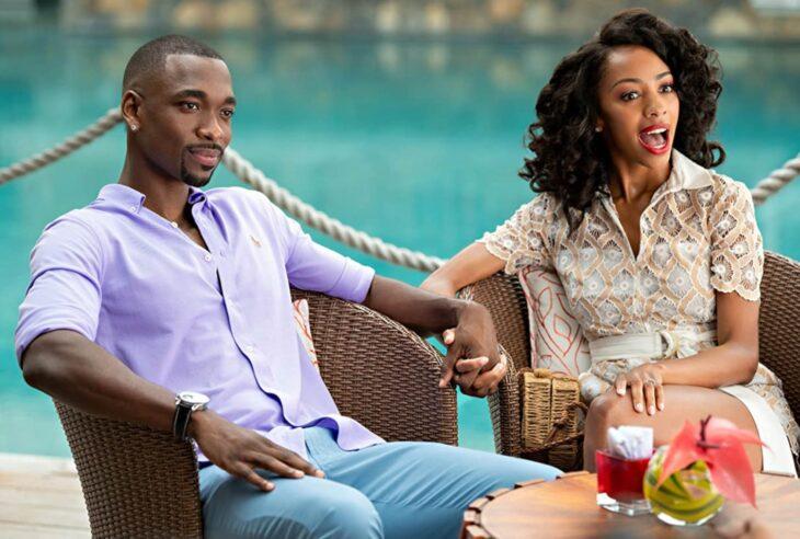 Escena de la película Resort of love