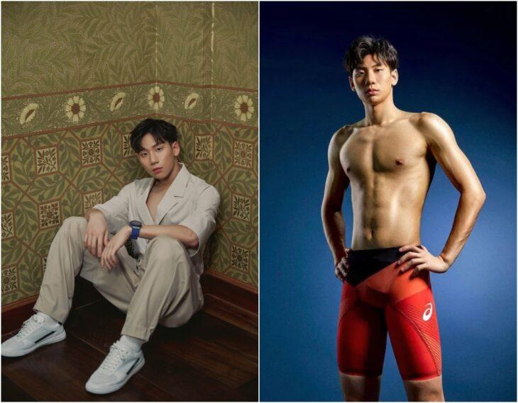 Eddie Wang ;15 Atletas masculinos que nos están enamorando en los Juegos Olímpicos de Tokio 2021