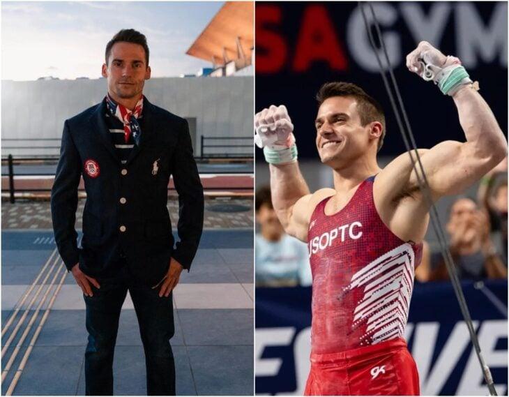 Samuel Mikulak ;15 Atletas masculinos que nos están enamorando en los Juegos Olímpicos de Tokio 2021