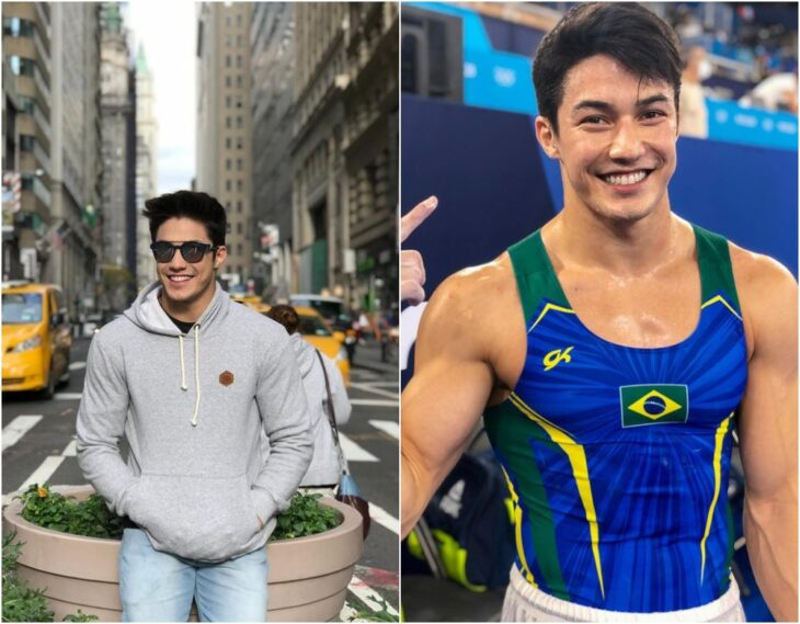Arthur Nory ;15 Atletas masculinos que nos están enamorando en los Juegos Olímpicos de Tokio 2021