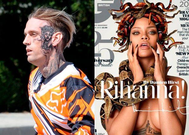 Famoso con el tatuaje de otro famoso en su piel