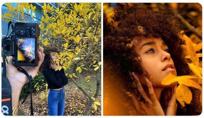 Chica bajo un árbol ;Fotógrafos comparten sus mejores trucos e internet no puede creer el resultado