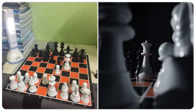 Tablero de ajedrez ;Fotógrafos comparten sus mejores trucos e internet no puede creer el resultado