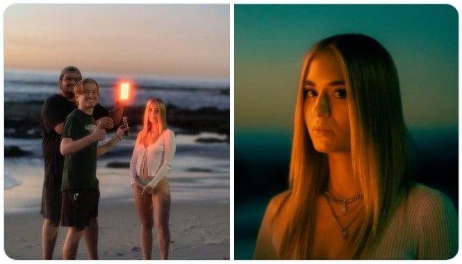 Chica en la playa ;Fotógrafos comparten sus mejores trucos e internet no puede creer el resultado