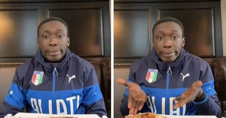 Kaby Lame comparando un video de TikTok