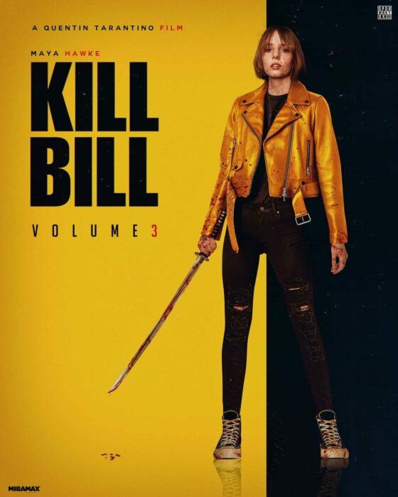 Poster Fan art de Kill Bill 3