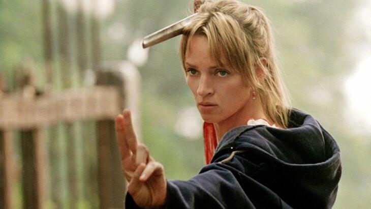 Uma Thurman como Beatrix Bidox en Kill Bill