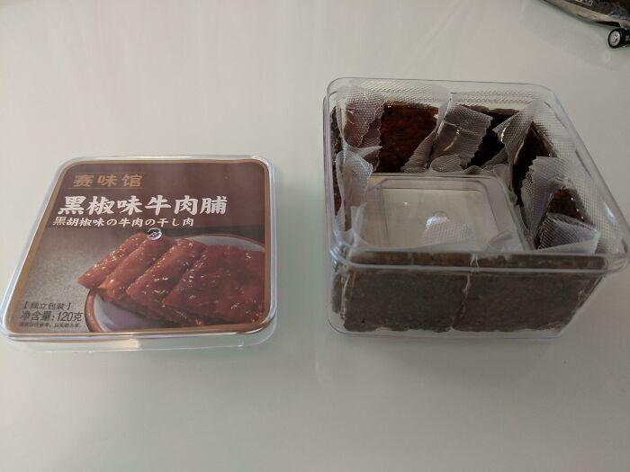 Caja con brownies de chocolate ;personas que fueron estafadas al comprar comida rápida