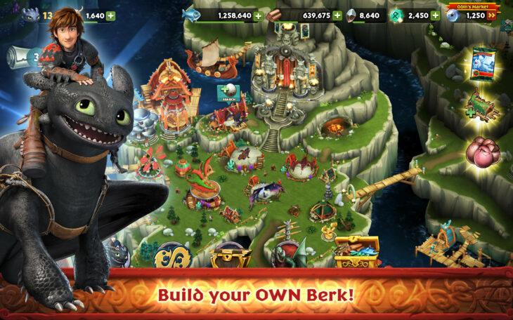 Videojuego Dragons rise of berk