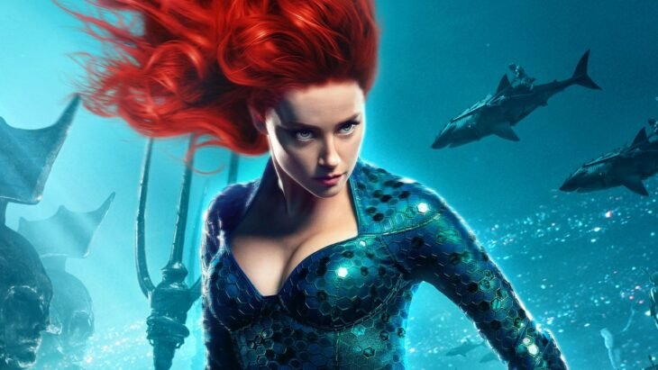 Amber Heard como Mera; Productor de 'Aquaman 2' ignora las 2 millones de peticiones para despedir a Amber Heard