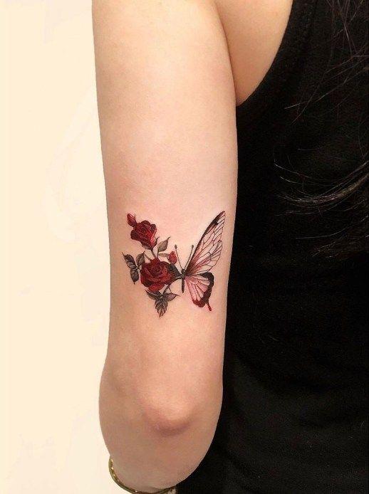 Media mariposa ;15 Hermosos insectos que sí querrás llevar sobre tu piel