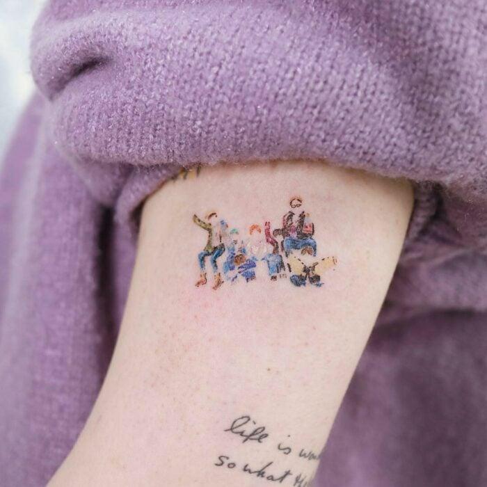 Siluetas de BTS ;15 Tatuajes para llevar tu amor por BTS al siguiente nivel