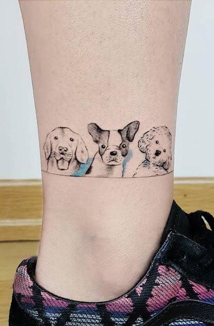 Peros estilo caricatura ;15 Hermosos tatuajes para mostrar que eres una 'animal lover'