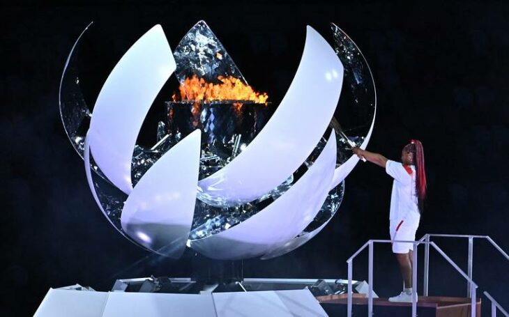 Encendido llama olímpica; Tokio 2020 Así se vive la inauguración de los Juegos Olímpicos