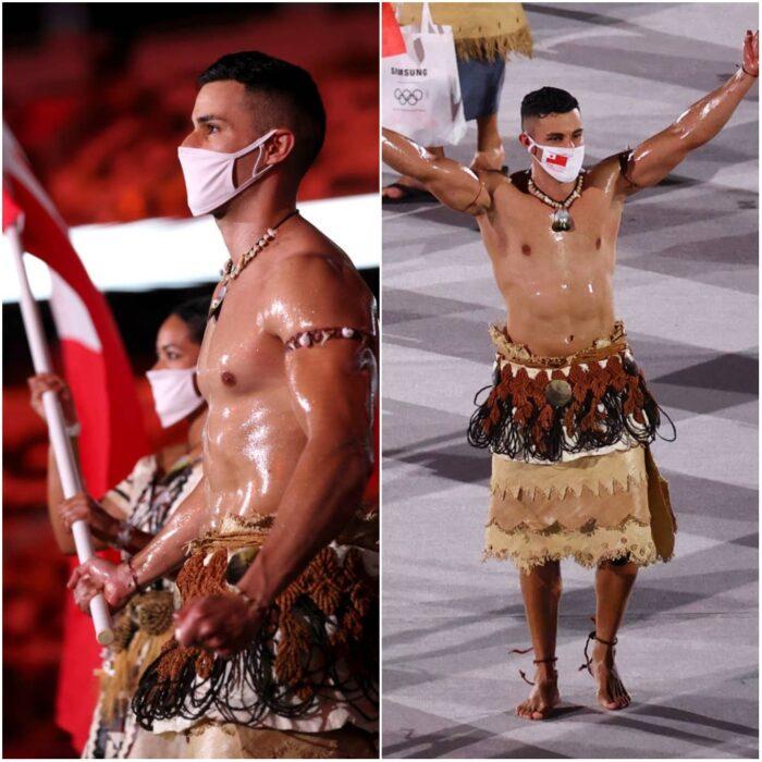 Pita Taufatofua; Tokio 2020 Así se vive la inauguración de los Juegos Olímpicos