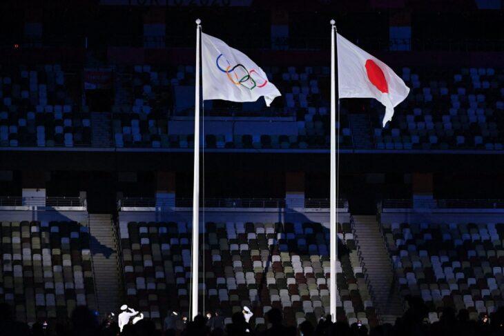 Bandera Japón; Tokio 2020 Así se vive la inauguración de los Juegos Olímpicos