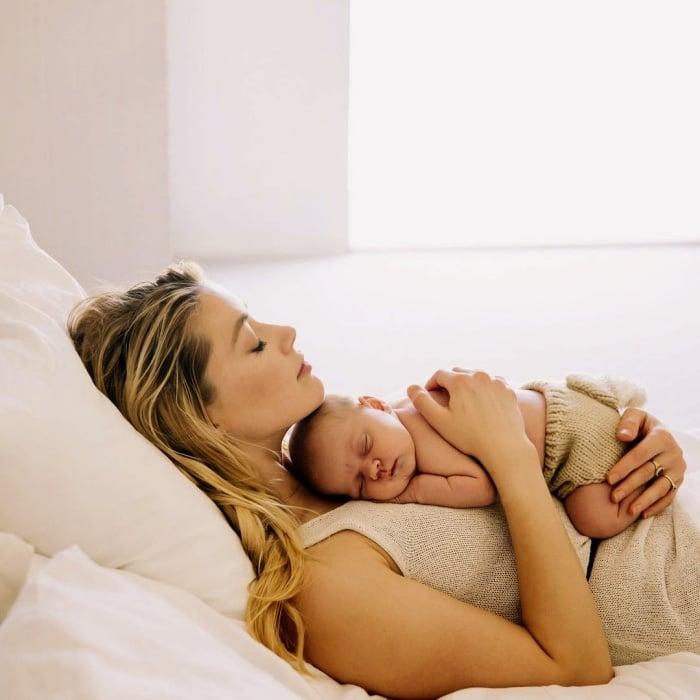 Amber Heard y su hija